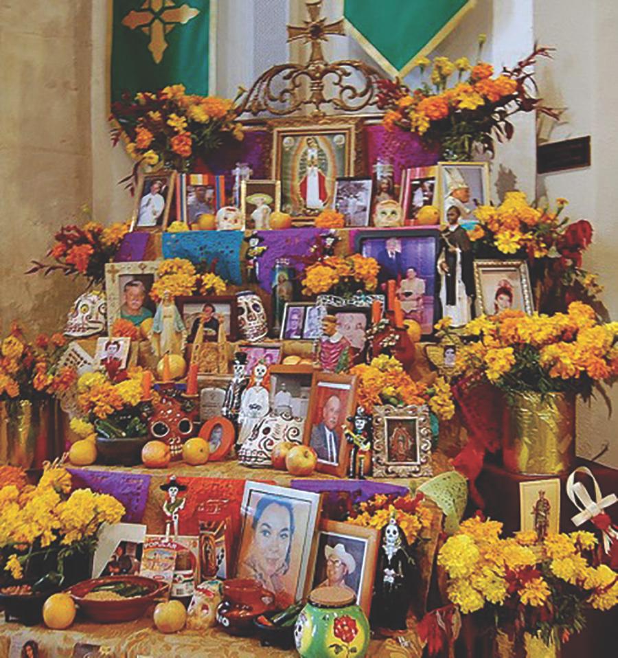 Mexican ofrenda