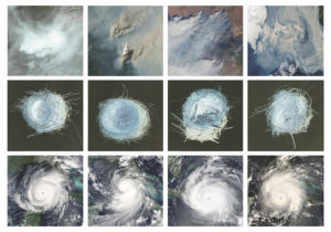 Four Fires--Four Nests--Four Hurricanes