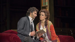 Jonas Kaufmann as Werther and Sophie Koch as Charlotte in Massenet's Werther, being streamed free this Sunday by the Met. (Photo Metropolitan Opera)
