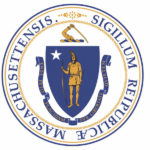 The Mass. state seal carries a big sword.
